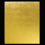 Goldbild - echtes Blattgold auf Leinwand. 50 x 60 cm. vorn